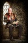 Manus Gullweigson, walischer Handelsherr vom Handelshaus Lupus Mangone