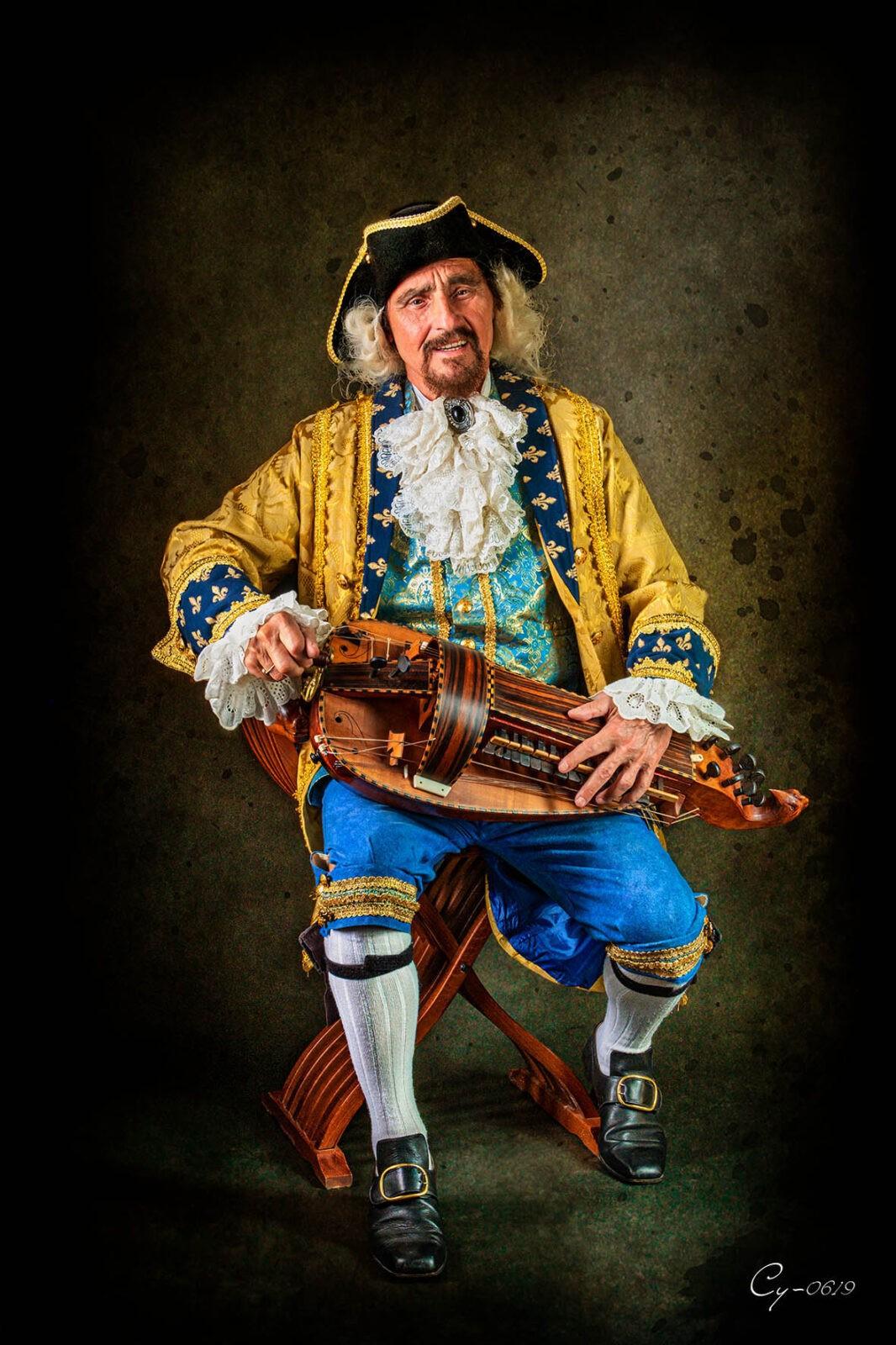 Marquis Louis de Montignac, Hofmusikus Friedrichs des Großen (Foto: Ralf Salecker)