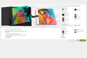 "Gestaltungsauswahl: Saal Digital Fotobuch ""Professional Line"""
