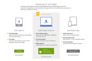 """Wahl der Software: Saal Digital Fotobuch """"Professional Line"""""""