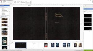"""Gestaltungsraster und Bilderauswahl: Saal Digital Fotobuch """"Professional Line"""" (Foto: Ralf Salecker)"""