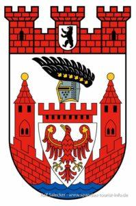"""Spandau-Aufkleber """"Spandau-Wappen"""""""