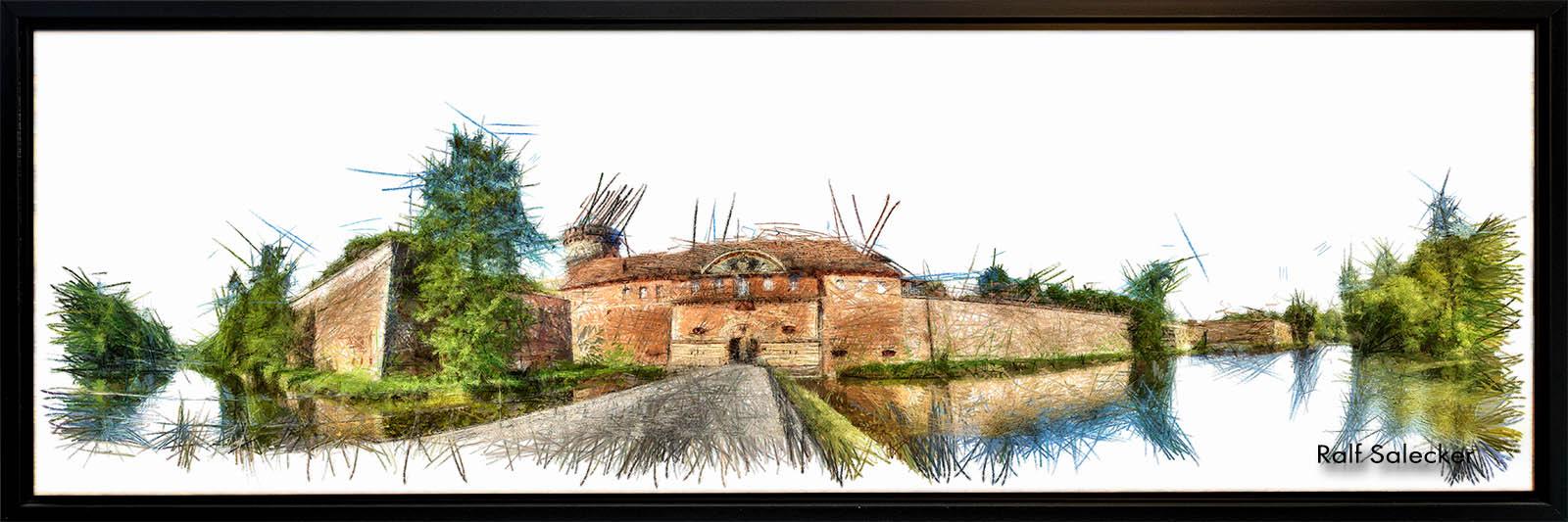 Zitadelle Spandau. Spandaus bekanntestes architektonisches Kleinod ist die am besten erhaltene Renaissancefestung Europas. (Panoramafoto: Ralf Salecker)